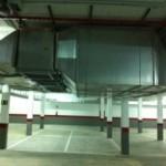 Ventilación forzada en parking