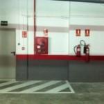 Protección contra incendios en parking