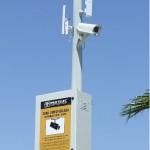 Videovigilancia wireless en poligono industrial